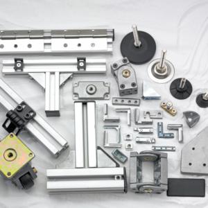 Accessories for Aluminium Sections